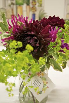 Cut flowers from Uppark for Alitex dinner and open day September 2014