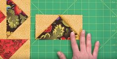 Make 4 Flying Geese Units at a Time - Quilting Digest Quilting Tips, Quilting Tutorials, Machine Quilting, Quilting Projects, Quilting Designs, Sewing Projects, Sewing Tips, Sewing Tutorials, Nancy Zieman