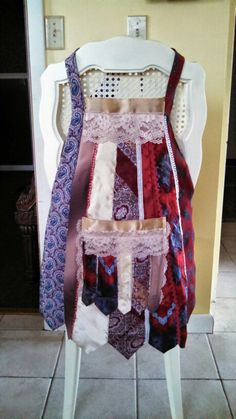 Necktie aprons - this is the first, I've made 7 total so far