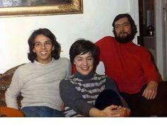 Jairo, Maria Elena Walsh y Julio Cortázar.