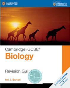 9781107614499, Cambridge IGCSE® Biology Revision Guide - CIE SOURCE