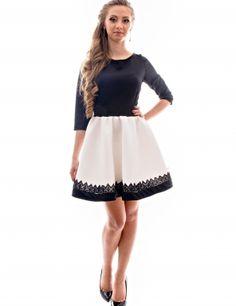 """- Material: poliester, poliuretan.Culoare: alb, negru.Daca iti plac rochiile cu atitudine si vrei sa alegi una usor de accesorizat, atunci rochia """"Pinned up"""" este alegerea perfecta!Produsul se realizeaza la comanda pe dimensiunile dumneavoastra.Produsul nu se returneaza.<br/>Marimi disponibile: S,M,L Colectia Rochii mini de la  www.rochii-ieftine.net"""