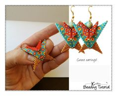 A great pattern for the accomplished beginner. As long as you have worked in Peyote stitch before, you will manage this easy pattern. Warped square, Peyote Stitch beading pattern for a slider bead that looks like a little kite. Make it and use it however you see fit, They make the cutest pair of earrings and being a structural and sturdy piece, you can wear them as individual pieces on a thick cord or make an assortment to wear all at once. The pattern guides you step by step with full…
