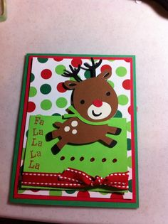 Create a Critter Cricut Cards | Vickie's Scraps: Another deer card from Create a Critter!! | Cricut
