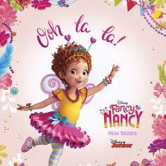 Add a little Fancy! The new series Fancy Nancy premieres Friday on Disney Junior! Unicorn Birthday Parties, 4th Birthday, Birthday Celebration, Disney Junior, Diy Crafts For Kids Easy, Fun Crafts, Fancy Nancy, Videos, Christmas Aesthetic