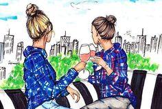 Una hermana es más que una amiga, es la mitad de nuestro corazón y ese apoyo cotidiano que debemos atender para no perder en ningún momento.