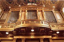 Motivem vyobrazeným na minci jsou velké varhany v Zlatém sále vídeňského Musikvereinu, sídla Vídeňské filharmonie a  nástroje Vídeňských filharmoniků.