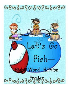 Go Fish Primer Sight Words Game from Mrs. Wyatts Wise Owl Teacher Creations on TeachersNotebook.com (34 pages)
