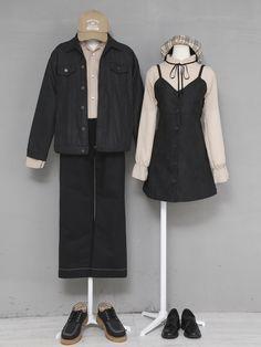 Korean Fashion – How to Dress up Korean Style – Designer Fashion Tips Fashion Couple, Cute Fashion, Retro Fashion, Fashion Outfits, Basic Outfits, Korean Outfits, Korean Fashionista, Pretty Outfits, Cool Outfits