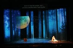 A Midsummer Nights Dream opera. Jayme Mellema scenic design for The Princeton Festival.