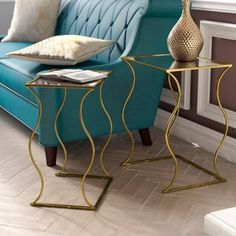 Shop Wayfair for all the best Gold End & Side Tables Under $300. Enjoy Free Shipping on most stuff, even big stuff.