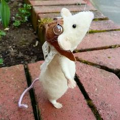Felted mouse.  £29