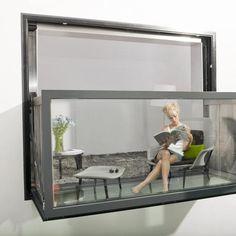 Cette Fenêtre automatisée se transforme en balcon !
