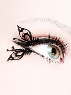 Butterfly lashes | http://fab.com/sale/23699/product/394870/?ref=sale=1=hardpin_type56=Pinterest_Hardpin=on