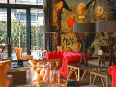 High Tea in Hotel-Restaurant Merlet in Schoorl, The Netherlands