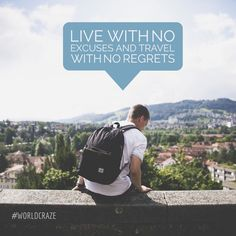 Use WorldCraze to help you make money while you are traveling the world! Travel, quotes, citation, voyage