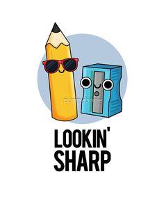 Funny Food Puns, Punny Puns, Cute Jokes, Cute Puns, Funny Cute, Funny Doodles, Kawaii Doodles, Cute Doodles, Cute Cartoon Drawings