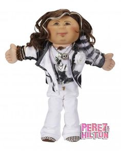 Can someone plllleeeasssee buy me this? It's a Steven Tyler cabbage patch doll. <3 <3
