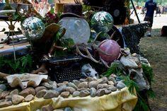 #magick #alter #nature #crystals #shambhalamusicfestival #ulantia #antlers #boho #beauty