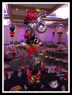 www.elegant-balloons.com 16 Balloons, Number Balloons, Balloon Centerpieces, Balloon Decorations, Sweet 16 Decorations, Sweet 16 Parties, Balloon Bouquet, Candyland, Masquerade