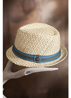 Malibu Goorin Brothers Straw Fedora Hat