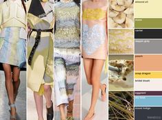 Capsule Palettes for Spring/Summer 2015 For more fashion trend forecasting, check out Trendstop.com