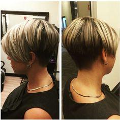 Textured Short Haircut Side View