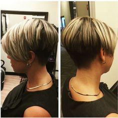 Textured Short Haircut Side View