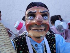 One of the many sights at the Fiesta de la Virgen del Carmen, Paucartambo (Peru) - a huge street party that lasts days. Imagine The Wicker Man meets Carnival in New Orleans