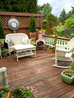 Privacy Wall for Deck