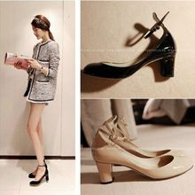 2013 new Korean star models with thick high-heeled ladies OL female fashion shoes women pumps yw9(China (Mainland))
