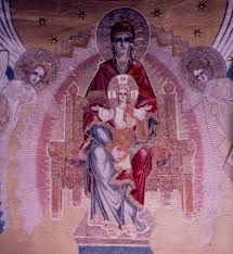 Draganescu Church painted by Father Arsenie Boca