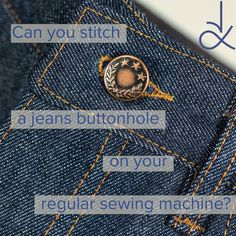 Pdf Sewing Patterns, Canning, Stitch, Jeans, Full Stop, Home Canning, Sew, Denim, Stitches
