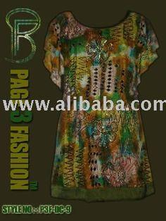 Donne di alta moda kaftan/mini abito - italian.alibaba.com
