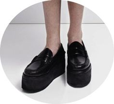 JW Anderson PreFall 2012 loafers