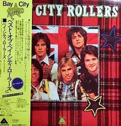 Amazon.com: BAY CITY ROLLERS: Best of Bay City Rollers (Japan Vinyl Lp, with Poster, Booklet): Music