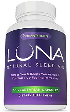 dbc9092de25f LUNA - 60 Vegetarian Capsules -  1 Natural Sleep Aid on Amazon - 100%