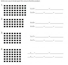Multiplication Facts and the Distributive Property: Mathematical ...