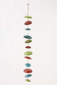 Ceramic Moon Chimes at Remodelista