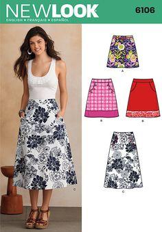 NL6106 Misses' Skirt