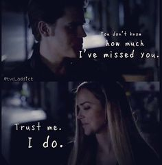 I love lexi and stefan they bring out the best in each other... she makes stefan smile like a kid:)