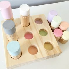 Our beautiful new sets, available in brights and pastels, help promote hand eye coordination as well as teach our little babes about colours and...