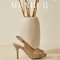 Shop our Women's Menbur Shoes from Begg Shoes with our top rated customer service. High Heels, Shoes Heels, Bridesmaid Shoes, Second Season, We Fall In Love, Gold Heels, Wishbone Chair, Bridal Shoes, Sparkle