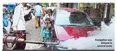 #Pune Dengue lurking, but PMC's focus remains on politics. Source : Pune Mirror