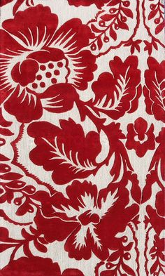 White Area Rug Red Black And Swirls On Pinterest
