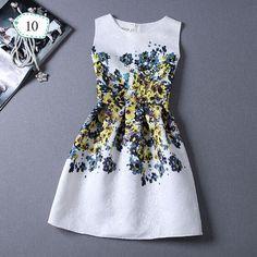 New Fashion Women Summer Dress 2015 desigual Party Sleeveless Print dress ladies summer styles sundress female Vestidos de Festa-in Dresses from Women's Clothing & Accessories on Aliexpress.com | Alibaba Group