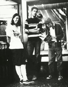 Nirvana! Dave's long johns.