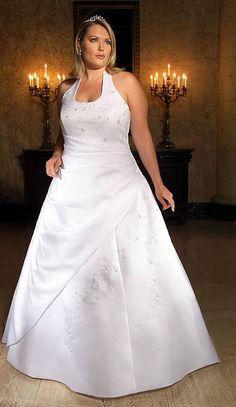 vestido de noiva para gordinhas frente unica