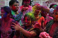New Delhi, India (Holi!) - I will participate in the Paint Festivals