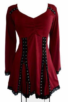 Amazon.com: Dare To Wear Gothic Victorian Women's Electra Corset Top